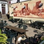 Beer Garden at Leith Dockers Club