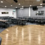 Main Hall holds 140 people, with a large dancefloor